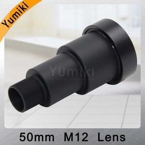 Image 4 - Объектив для видеонаблюдения Yumiki, 50 мм, M12 * 0,5, 7 градусов, 1/3 дюйма, F1.2, объектив для MTV, для камеры видеонаблюдения