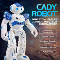 RC Robot Intelligent Programming Remote Control Robot Toy Biped Humanoid Robot For Children Kids Birthday Gift