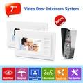 """Quality Indoor Monitor 7"""" TFT Color Wired Video Doorbell Camera Door Phone Doorbell Intercom System IP65 Waterproof Call Panel"""