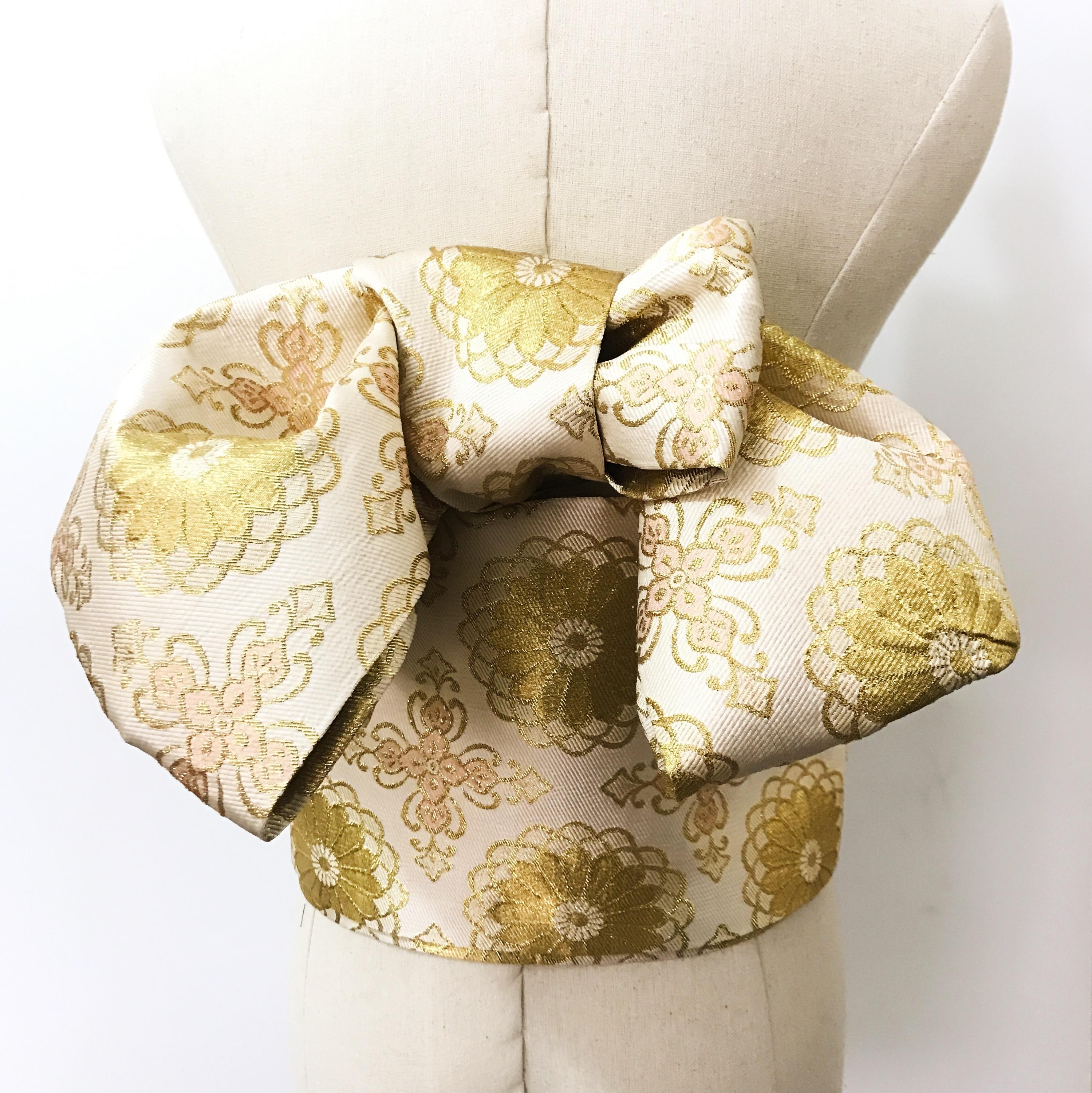 2019 Kimono Accessories Styling 6 Style  Large Bow Waist Belt