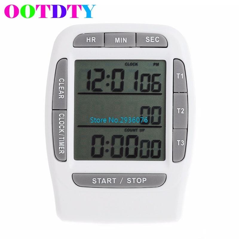 Trendmarkierung Multi-kanal Timer Digital Lcd Display Countdown Labor 3 Kanäle Timer 99 Stunden My3_30 Timer