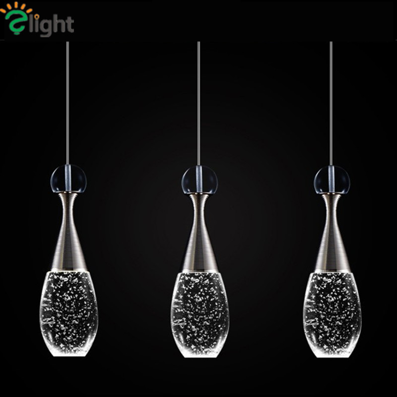 Modern Luxury Bottle Led Chandeliers Lighting Luminaria Lustre Crystal Dining Room Led Pendant Chandelier Lamp Led Hanging Light vintage birdcage crystal chandelier lighting black rustic bird cage pendant hanging light chandeliers lamp for dining room bar