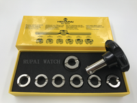 Quality Opener Fits Rolex And Tudor Watch Screw Case Back Remover Repair Tool Kit