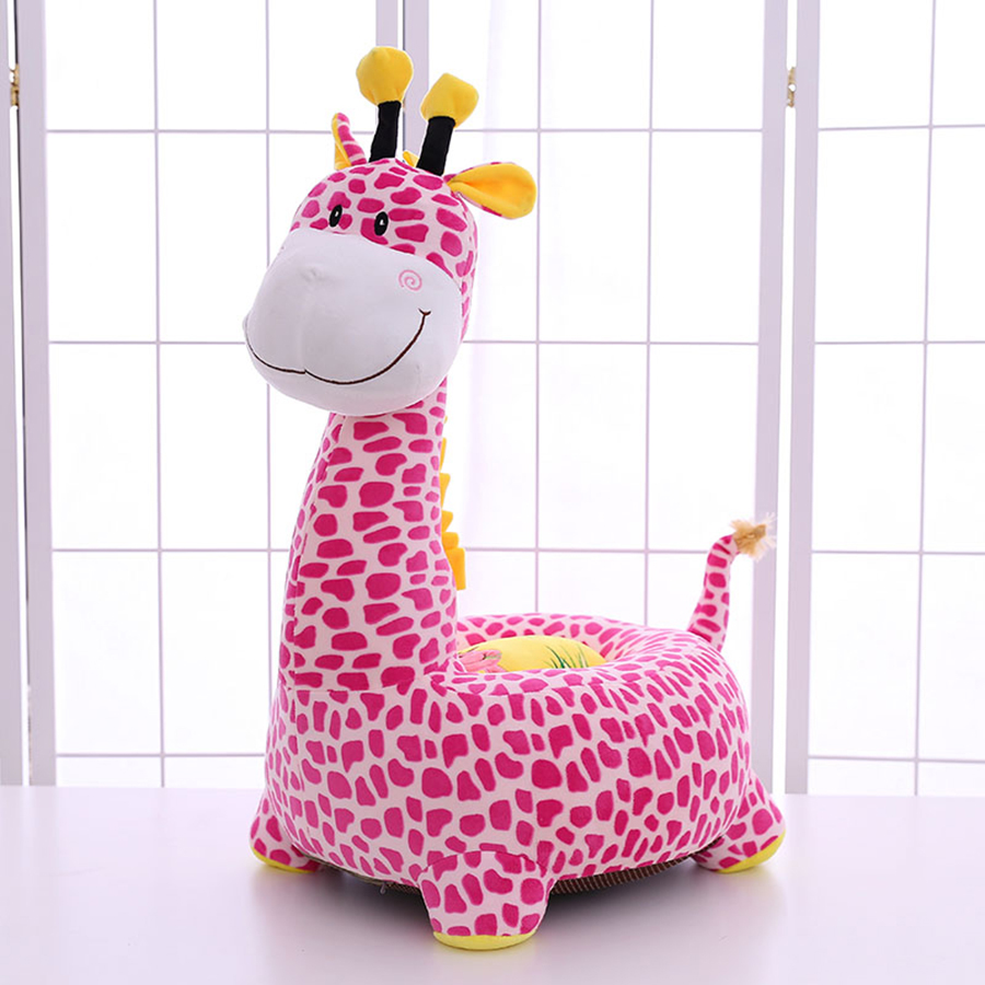 2018 New Giraffe Children Sofa Chair Pillow Dragon Cushion Plush Toys Seat Baby Nest Sleeping Bed Almofada Soft Coussin 50T0414