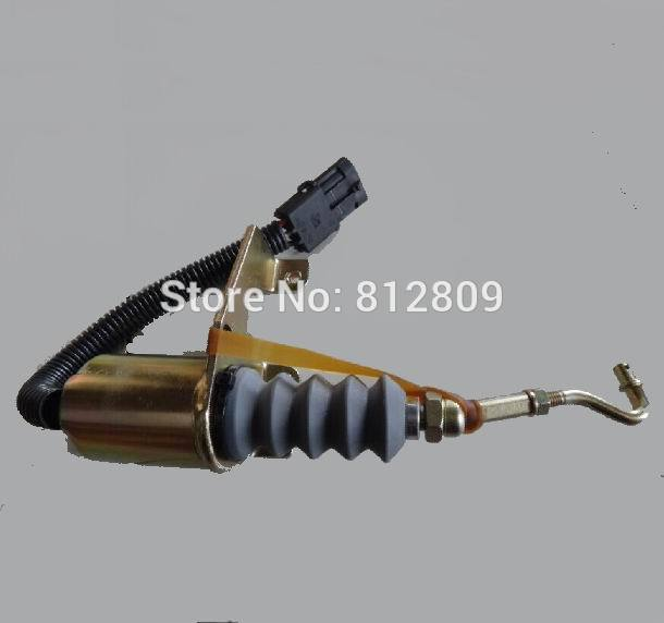 Shut-off Solenoid SA-3765-12, SA-3765 12V for  RSV 1751 solenoid left mounted free shipping fuel shutdown solenoid valve sa 3765 12 for bosch rsv 1751 12v solenoid left mounted