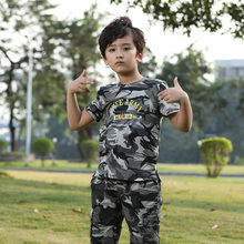 Brand Quality Summer Boys t shirt Military Camouflage O-neck Cotton T-shirts Kids Tops Tees Childrens Tshirts 3-16yrd