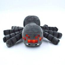 Minecraft Plush Toys 16cm Gray Minecraft Spider Plush Toy Game Cartoon Stuffed Animals Toys Brinquedos for Kids Children Gifts