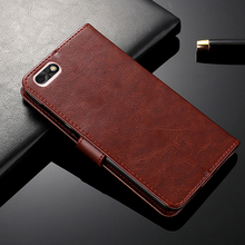 Leather Case For Oppo A1K Premium Leathe