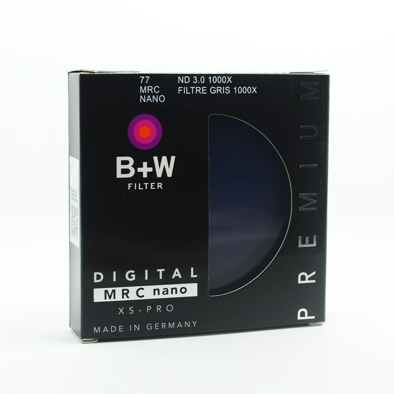 B W 810 ND1000 77mm MRC Ultra Thin Neutral Density 10 Stop for Camera ND 1000