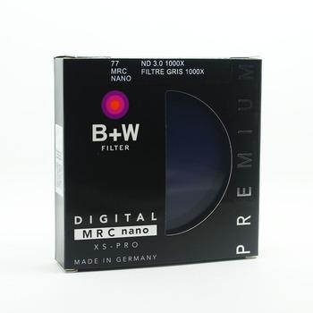 B + W 810 ND1000 77mm MRC Ultra cienka neutralna gęstość 10 Stop dla kamery ND 1000 67 72 77 82 tanie i dobre opinie OUTMIX Filtr uv ND 1000X