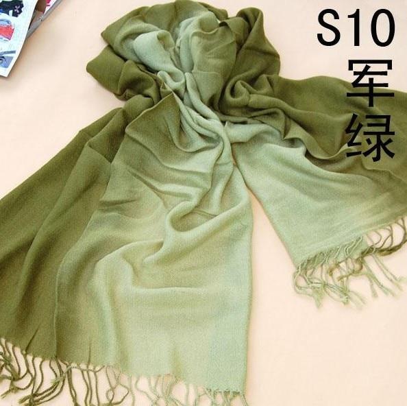 100% Wahr Neue Mode 100% Faux Kaschmir Schal Frauen Mit Quaste Solide Schals Reine Farbe Winter Hijab Und Pashmina Größe 180*70 Cm