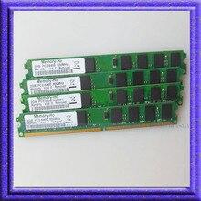 Новый 8 ГБ 4×2 ГБ PC2-6400 800 МГЦ ddr2 pc6400 DDR2 800 мГц DIMM 240-КОНТ ОПЕРАТИВНОЙ Памяти Для Настольных Компьютеров низкая Плотность Бесплатная доставка
