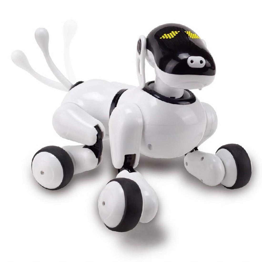 Kinder Haustier Robot Hund Spielzeug mit Tanzen Singen/Rede Anerkennung Control/Touch Empfindliche/APP Custom Programmierung Aktionen-in RC-Roboter & Tiere aus Spielzeug und Hobbys bei  Gruppe 1