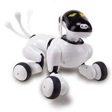 Çocuk Pet Robot köpek oyuncak dans şarkı/konuşma tanıma kontrol/dokunmatik/APP özel programlama eylemler