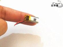 10 pcs 3.7v 50mah 360821 Lithium Polymer LiPo Rechargeable Battery li ion li-polymer For DIY Mp3 bluetooth Recorder headphone