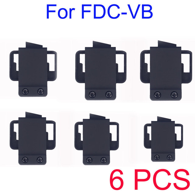 6 PCS FDC-VB BT intercomunicador fone de ouvido Clip / suporte / monte acessório para FDC-VB BT Intercom Motorcycle Helmet Interphone Headsets