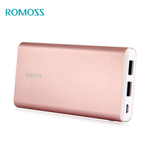 ROMOSS GT1 Power Bank 10000mAh External Battery romoss GT1 5V/1A Dual USB External Battery Charger For iPhone8 Samsung iPhoneX