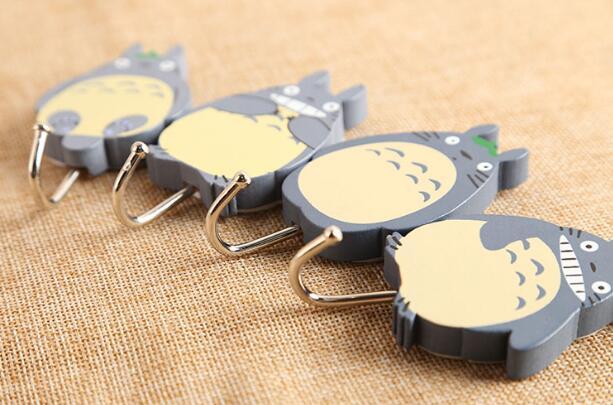 20pcs Japanese anime Totoro Creative Mood Coat Hooks for Bag Keys ...