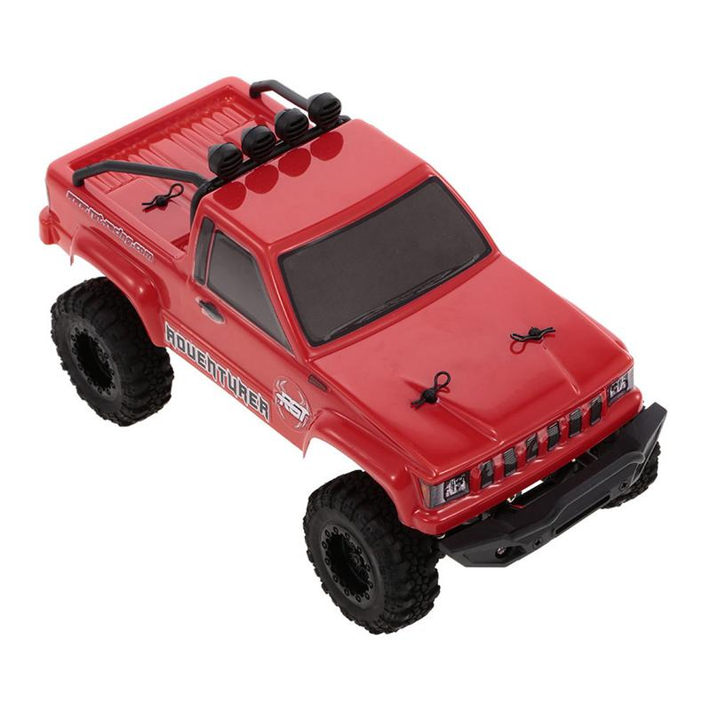 RGT 1:24 Car 2.4G 4WD 15KM/H RC Crawler Monster Truck Rock Buggy HSP Toy Gift