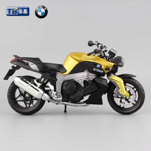 1:12 new kids Motorcycle K1300R Die cast hotwheels model motorbike miniature Alloy metal models rider racing bike toys for boys