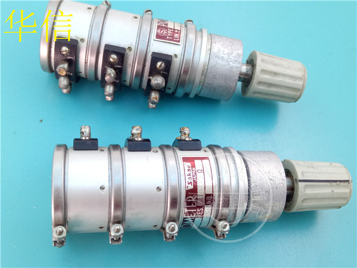 Used Japan SAKAE SCP22C3 10K triple imported potentiometer switchUsed Japan SAKAE SCP22C3 10K triple imported potentiometer switch