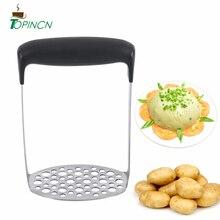 Картофелемялка из нержавеющей стали, гладкое пюре, инструменты для изготовления сладкого картофеля, кухонные гаджеты для фруктов и овощей