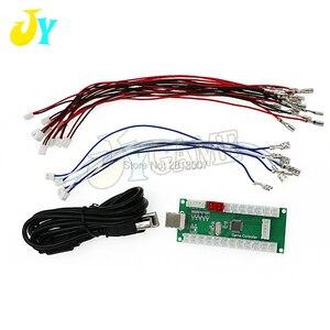 DIY Нулевая задержка аркадный USB кодировщик для ПК PS3 Raspberry Pi плата андроида + ДЖОЙСТИК кнопочные Проводные кабели