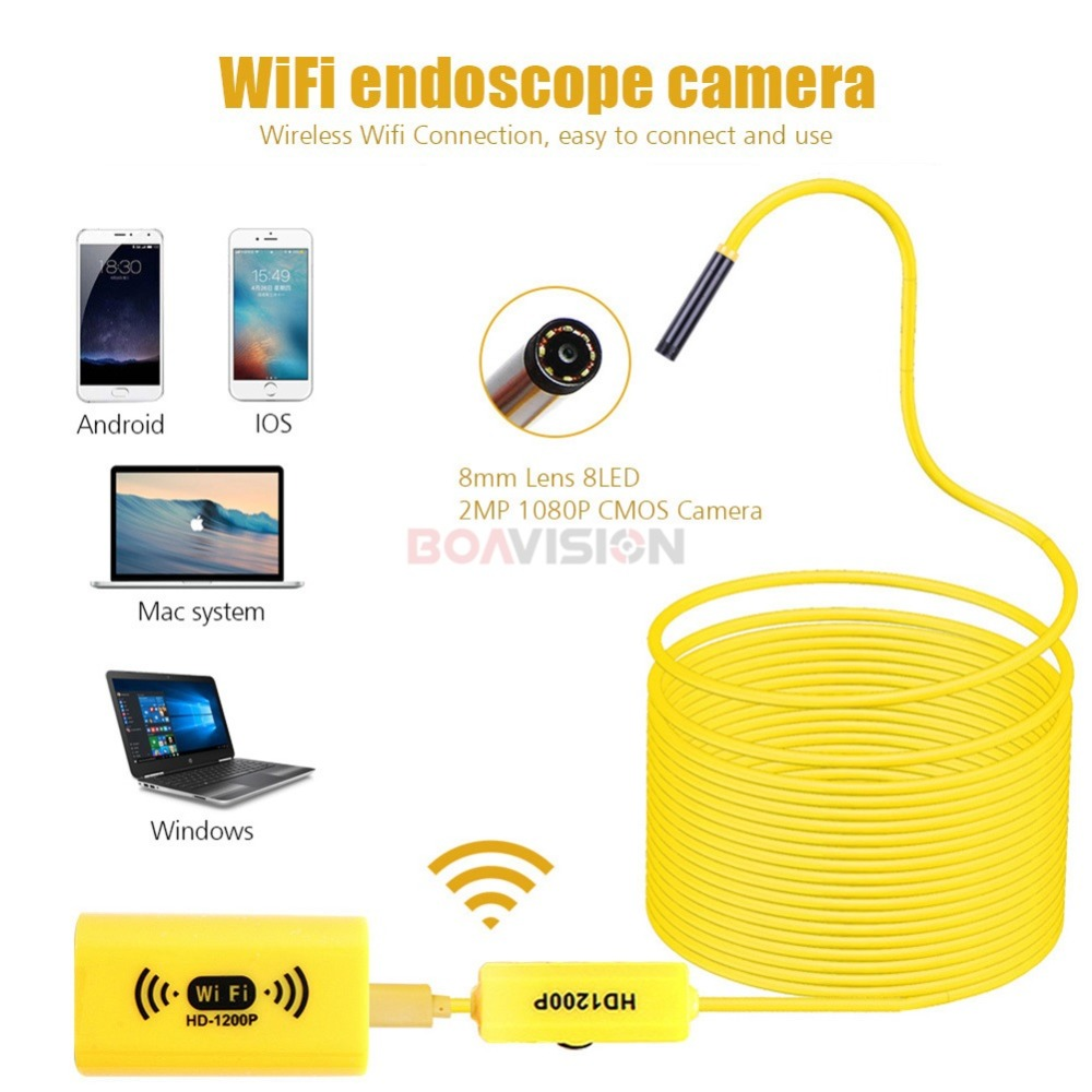 01 Wifi Endoscope Camera