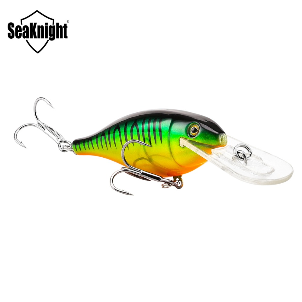 SeaKnight SK011 Minnow Fishing Lure Floating Wobblers 8.5g 70mm 0-1.8 Minnow Hard Baits Fishing Lures For Freshwater Saltwater