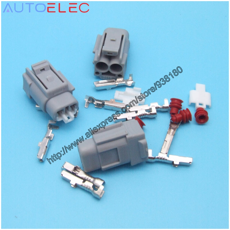 100kit 2Pin way automotive waterproof ABS Speed Sensor connector 47910 CK000 PBT for Tyco TE AMP