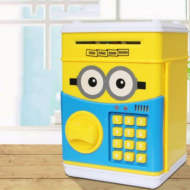 Tienda Online De dibujos animados Caja de Dinero ATM Dinero