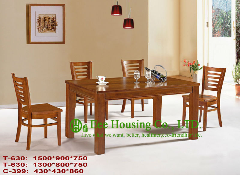 T-630,C-399     Luxurious Solid Dining Chair,Solid Wood Dinning Table Furniture With Chairs/Home Furniture