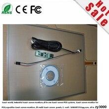 Запас 5 шт./лот Горячая 10,4 дюймов 4:3 usb 4 провода резистивный промышленный сенсорный экран панель ПК Замена Сенсорная панель