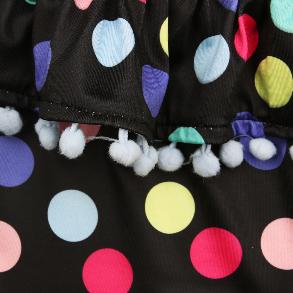 baby meisje kleding zomer meisjes badmode kinderkleding stippen - Babykleding - Foto 5