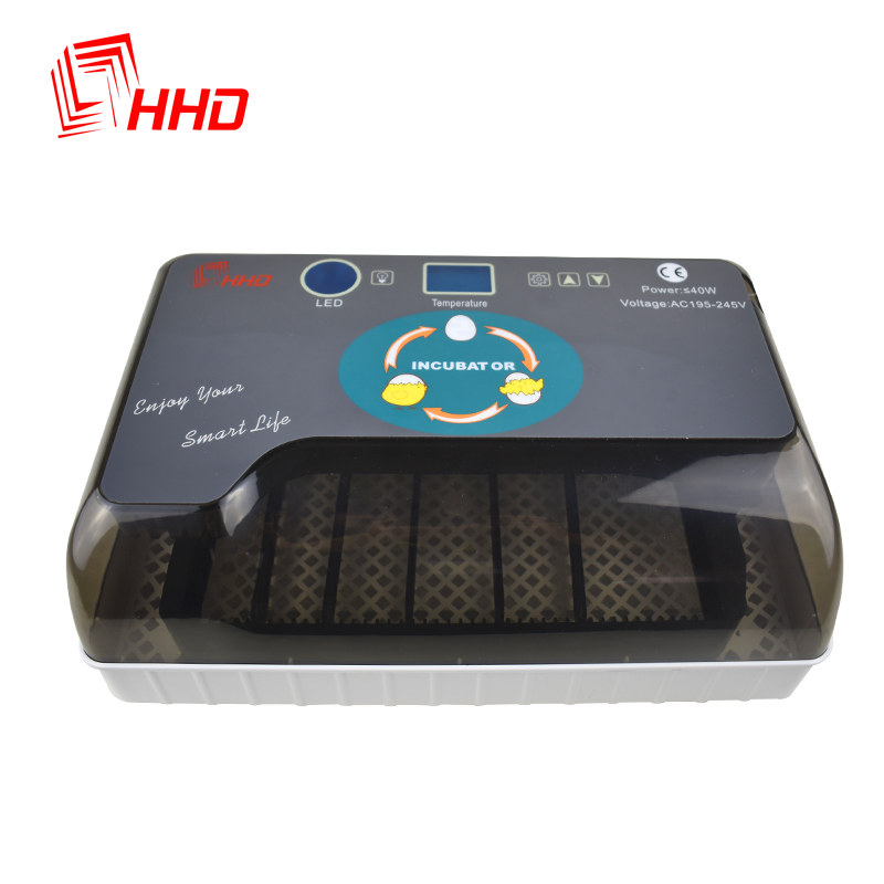 Full Automatic Incubator Brooder Farm Hatchery Machine 12 Egg Hatcher Chicken Automatic Egg Incubator Goose Bird