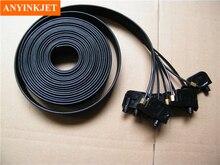 16 uv small damper + screw oring 10 meter 8 line ink tube 3x2mm For Epson R1800/1900/1390/2400/1100 etc Printers