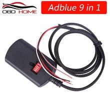 OBD2 Adblue 8in1 kamyon Adblue Emulator 8 in 1 destek Euro4 ve 5 en İyi kalite Adblue ile NOx sensörü 3.0 cihaz adblue 9 in 1