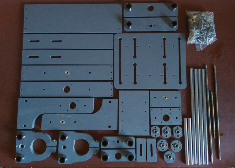 Mini Diy Pcb 2020b Frame Rack Engraveing Machine Cnc
