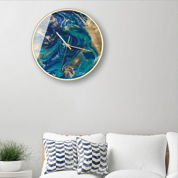 New Wall Clock 3D Quartz Abstract Wall Clock For Home Decoration Super Mute Wall Watch For Living Room Metal Saati