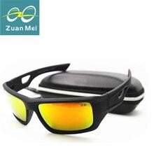 Zuan mei pesca gafas de sol de los hombres 2016 deportes polarizados gafas de sol de Los Hombres Gafas De Sol Hombre Gafas de Sol Masculino grandes Enmarcado