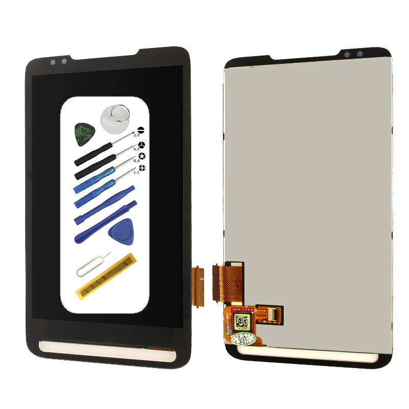 Original 4.3 inches T-Mobile screen For HTC HD2 T8585 T8588 lcd display Touch screen digitizer with tools assembly replacementOriginal 4.3 inches T-Mobile screen For HTC HD2 T8585 T8588 lcd display Touch screen digitizer with tools assembly replacement