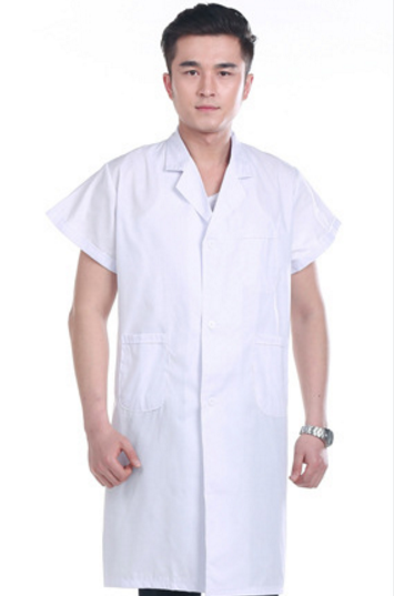 Summer White Coat Nurse Jacket Medical Uniforms Hospital Doctors ...