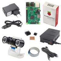 Raspberry Pi Camera Kit Raspberry Pi 3 Night Vision Camera Holder Power Plug USB Cable Case