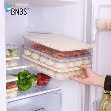 BNBS кухня может быть сложен еда сортировки коробка для хранения холодильники Crisper Герметичный Бак клецки овощей органайзер для фруктов коробка
