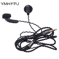 YMHFPJ Diy MX500 Stereo Earphone Wired 300 OHM HIFI Headset Slive Cable Headphones For Samsung IPhone