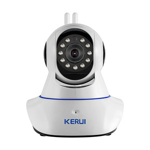 Image 2 - New KERUI TFT color LCD Display WiFi GSM PSTN Home Office Security Alarm System ios android remote control with wifi ip camera