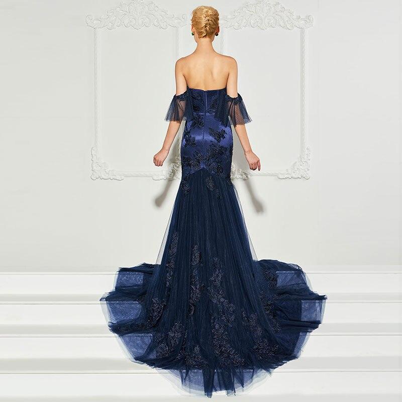 Tanpell sweetheart evening dress lace floor length tulle gown women custom mermaid formal evening dresses in Evening Dresses from Weddings Events