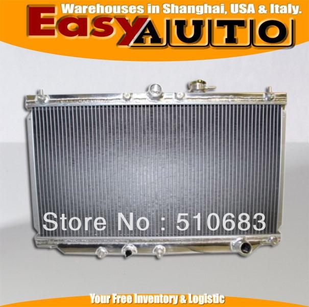 Aluminum Radiator Fit for Honda Accord 1990-1993 (Manual Transmission)/ PRELUDE 92-96 MANUAL aluminum radiator for 1993 1995 mazd rx 7 fd3s manual transmission