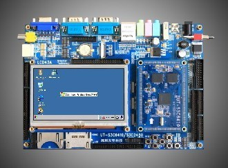 UT-S3C6410 Development Board 4.3 Touch Screen Android 2.1 Source! 52DVD