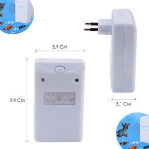 Image 5 - 초음파 전자 해충 방제 설치류 쥐 마우스 리 펠러 마우스 마우스 방충제 모기 마우스 리 펠러 설치류 미국 eu 플러그